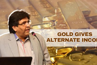 Gold Gives Alternate Income