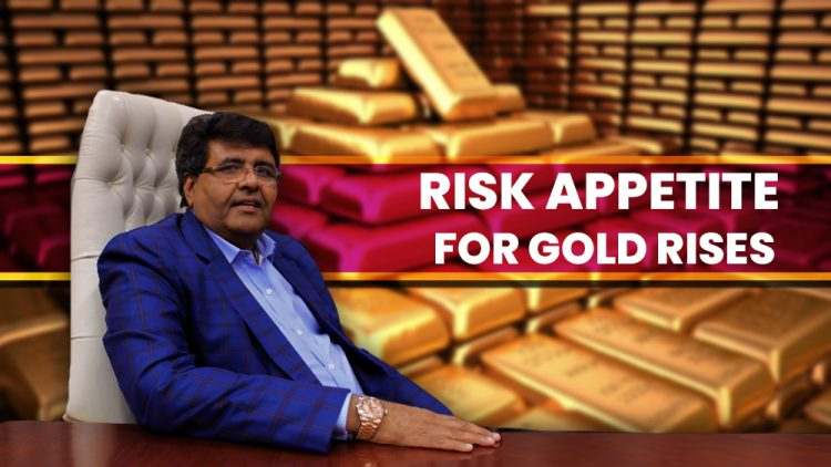 Risk Appetite For Gold Rises