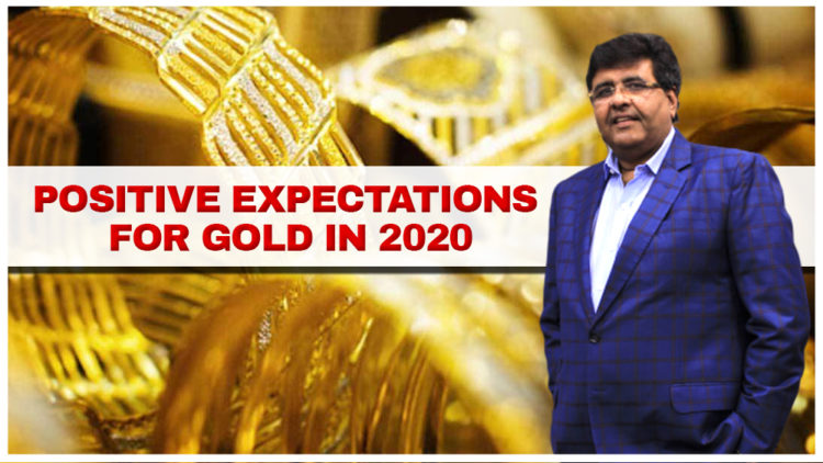POSITIVE EXPECTATIONS FOR GOLD IN 2020